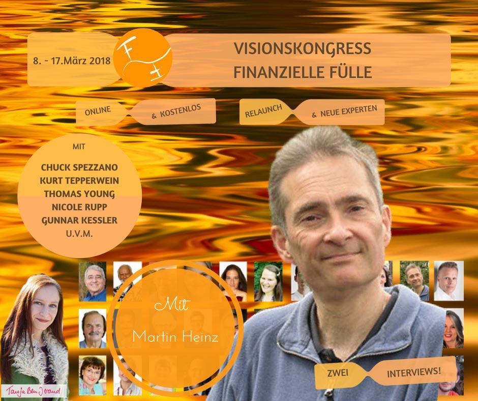 Visionskongress Finanzielle Fülle mit Martin Heinz